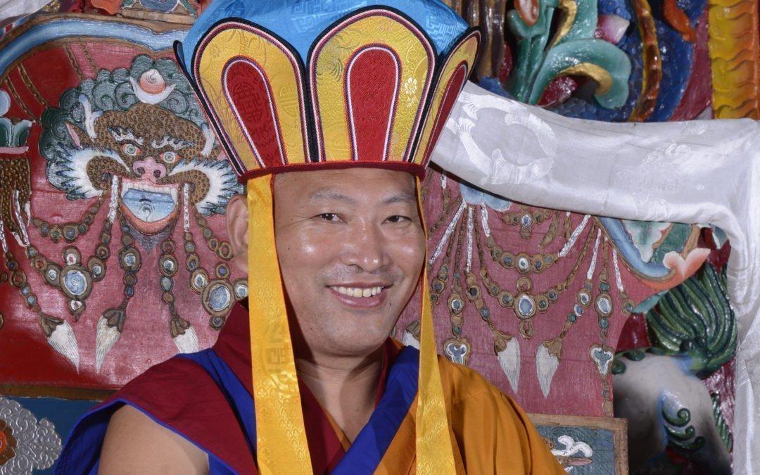 His Holiness the 34th Menri Trizin Rinpoche's European Tour Schedule