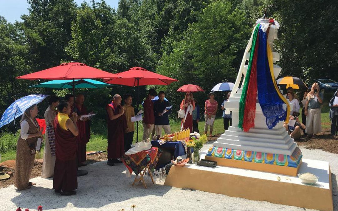 New Bön Stupa at Serenity Ridge First in US