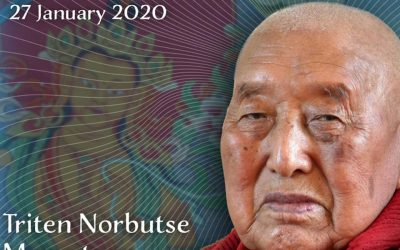 Join Us Online January 26 for Events Honoring H.E. Yongdzin Rinpoche