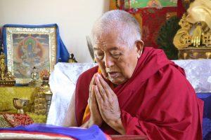 Transmisión especial de Año Nuevo con Tenzin Rinpoche: Mantra de Larga Vida para S.E. Yongdzin Rinpoche
