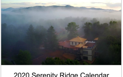 Order 2020 Serenity Ridge Calendar Through Ligmincha Shop