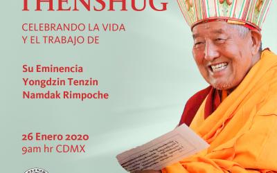 Celebrando la vida y trabajo de Su Eminencia Yongdzin Tenzin Namdak Rinpoche