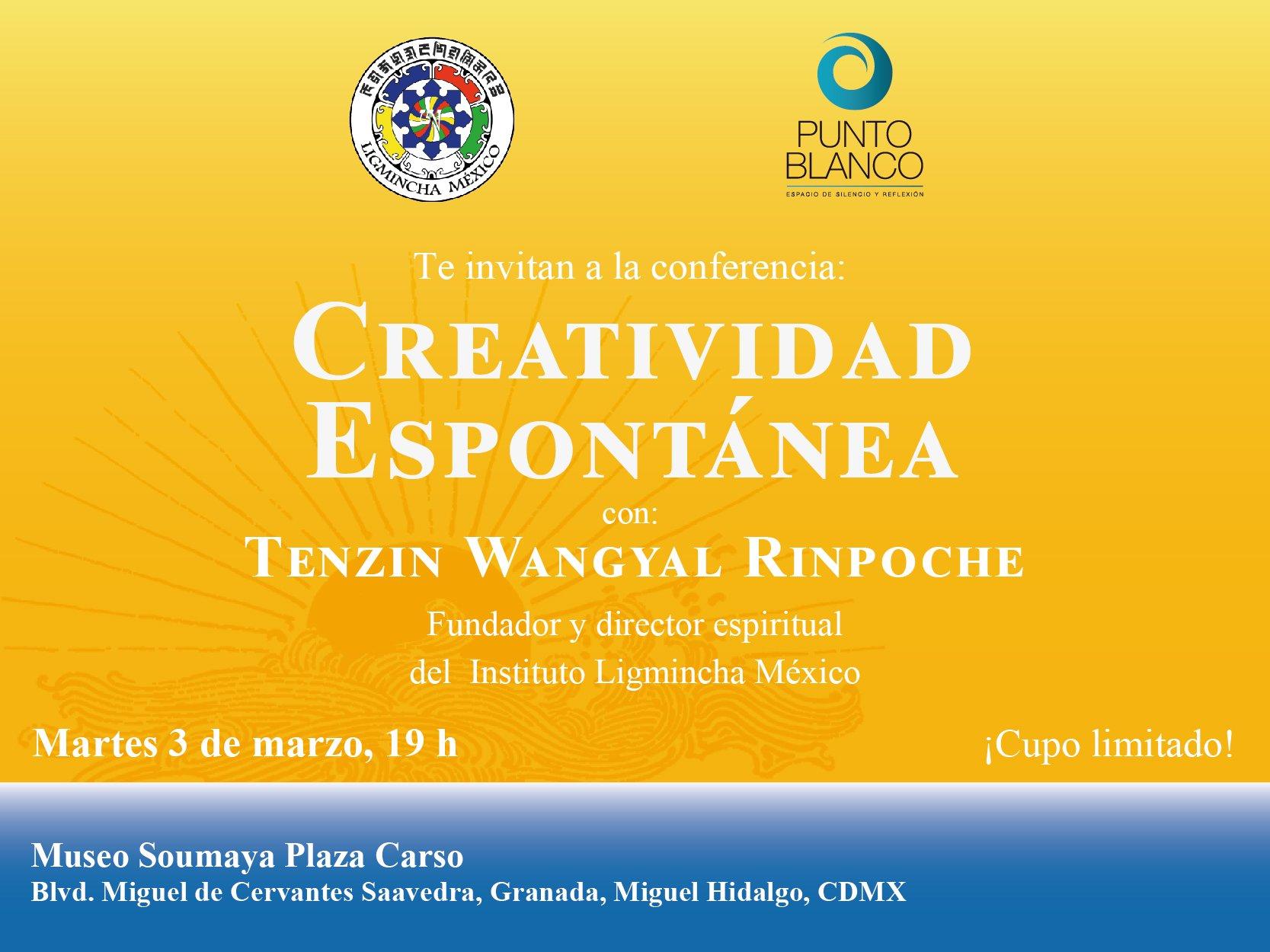 Conferencia Creatividad espontanea