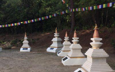 Proyecto 33 Stupas en Chamma Ling Valle de Bravo
