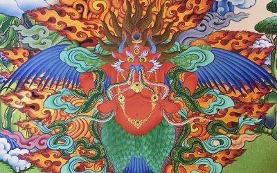 Red Garuda and Tibetan Yoga Online Retreats in November