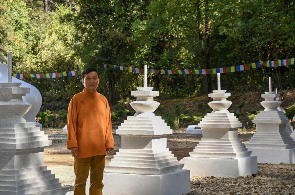 Rifa de la Stupa 11 en Chamma Ling Valle de Bravo